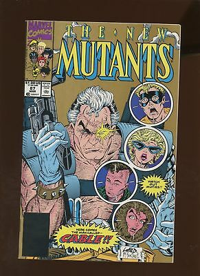 New Mutants 87 NM/MT 9.8 2nd Print  1st Full Cable! Rob Liefeld!