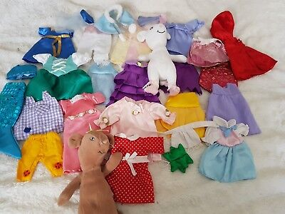 Angelina Ballerina soft toys and clothes
