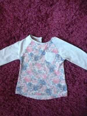Girls age 18-24 months Floral Top