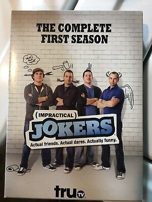 IMPRACTICAL JOKERS COMPLETE FIRST SEASON 1 New Sealed 2 DVD Set