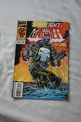 The  Punisher - vol 2 no82  1993. fire fight