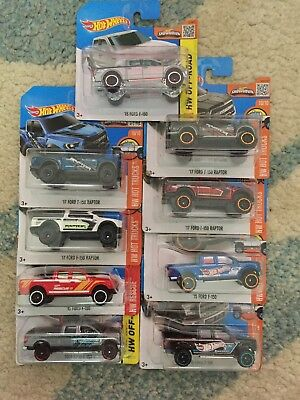 Hot Wheels Ford F150 Bundle Job Lot