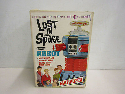 Vintage REMCO Lost in Space Motorized Robot IOB Untested Parts Repair