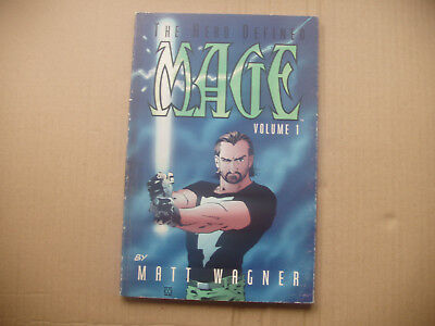 tpb: mage: the hero defined collected edition # 1..1998, 1st print...matt wagner