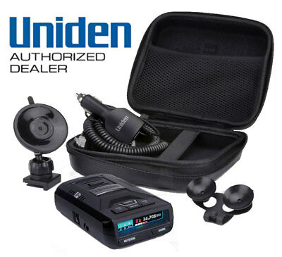 Uniden R3 Extreme Range Radar Laser Detector 360 Degree GPS : FACTORY AUTHORIZED