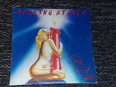 The rolling stones   she was hot  45 tours