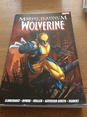 Marvel Platinum The Definitive Wolverine