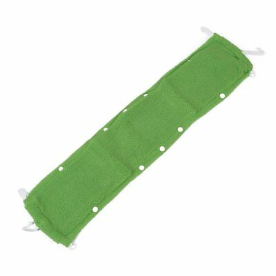 Washroom Reusable Warmer Soft Toilet Seat Cover Mat Pad Cushion Green K8R5