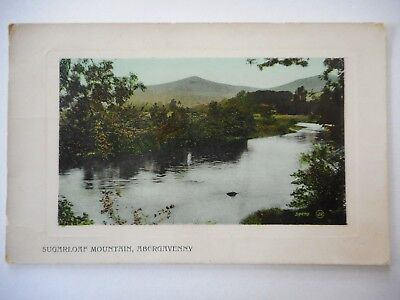 Postcard - Abergavenny - Sugarloaf Mountain