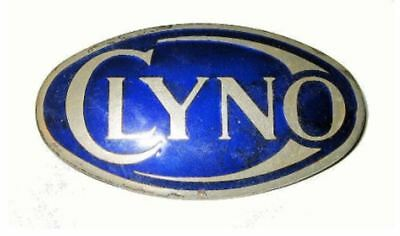 This is a Very Rare Car Badge for the 1922 – 1929 British made Clyno Car.