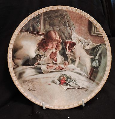 Royal Doulton Plate - Breakfast in Bed