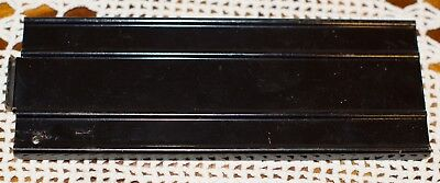 Tonka black ramp for auto carrier truck.  7 1/2 x 2 13/16 inches C-8