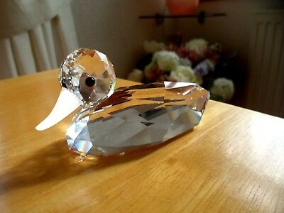 Beautiful Swarovski Crystal Duck. Good Condition Guaranteed