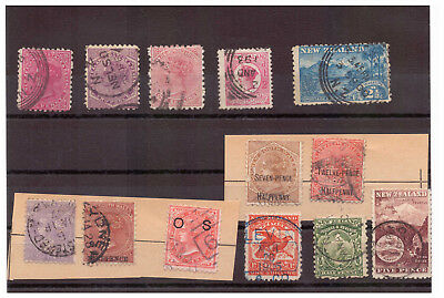 Australian States classic stamps, New Zealand, New South Wales !!