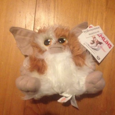 "Gizmo Mogwai Gremlins 5"" Official Plush Soft Toy. New With Tags"
