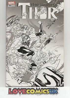The Mighty Thor #700 1 in 100 Dauterman Variant Marvel Comics