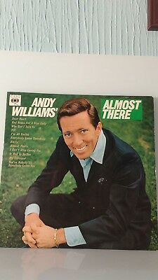 """Andy Williams """"Almost there"""""""