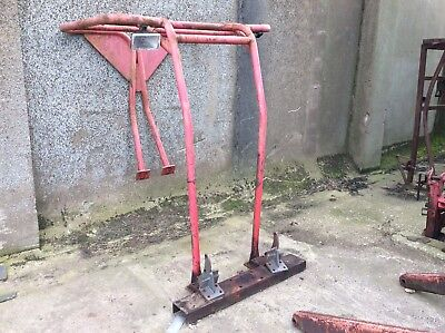 Massey Ferguson 134/35 safety frame