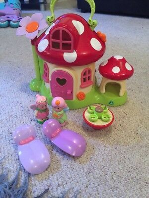 Early Learning Centre Happyland Toadstool And Figures