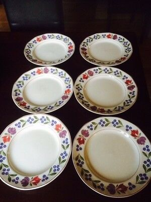 Adams Old Colonial 6 Dinner plates in good condition