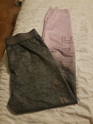 girls river island cropped leggings ex condition 9/10 yrs