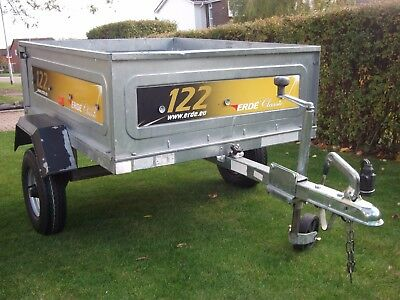 Erde 122 Trailer incl. cover & jockey wheel and brand new tyres!