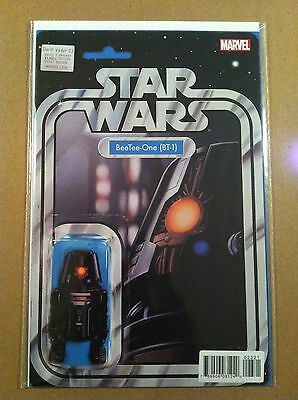 """Star Wars Darth Vader #23 """"beetee-One (Bt-1)"""" Action Figure Variant Cover Nm 1St"""