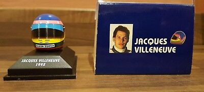 Minichamps Formula 1 Helmet 1/8th Jacques Villeneuve