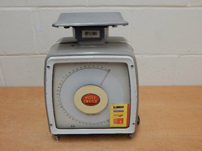 Vintage AVERY POST OFFICE 1107/4B Weigh-Tronix Two-Sided WEIGHING SCALES