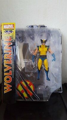 Marvel Select, Wolverine action figure  (yellow suit)