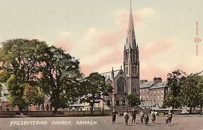 PRESBYTERIAN CHURCH ARMAGH IRELAND RELIABLE SERIES IRISH POSTCARD No. 39/11