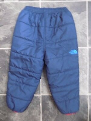 Boys Reversible waterproof trousers size 18-24 months ** The North Face ** bnwot