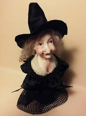 ~Winifred~ Old Witch Sculpt By Poppenmoon