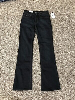 7 For All Mankind Girls Blue Dojo Flare Leg Jeans Size 14 BNWT FREE SHIPPING