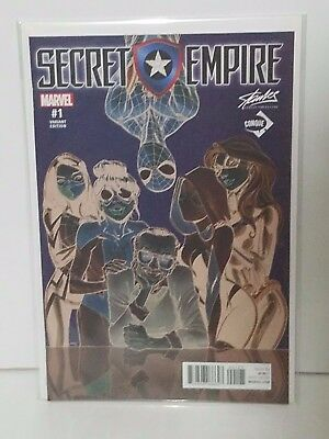 Stan Lee Exclusive Secret Empire #1 J Scott Campbell Variant set of 4 NM+
