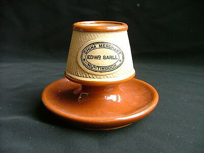 Beige and Brown pottery Match Striker