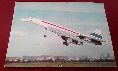 Cpa Avion Concorde Supersonique 2 Mars 1969 Carte Souvenir