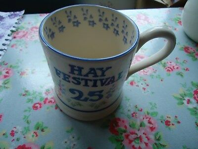 Emma Bridgewater Hay Festival 25yrs 0.5pt Mug New Seconds