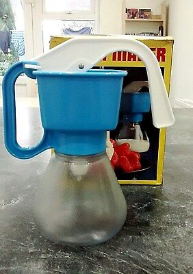 Vintage Bel Cream Maker, blue, boxed with instructions, in excellent condition