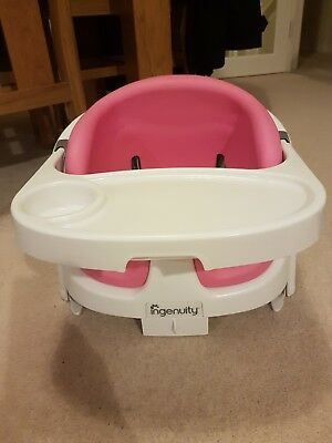 Ingenuity baby base in pink - used in very good condition