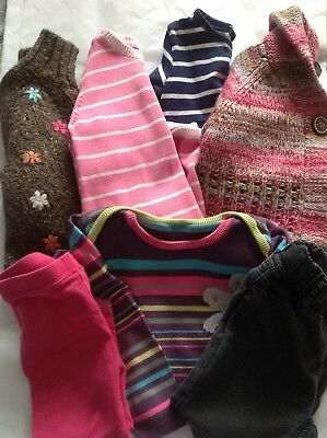Girls Clothing Bundle, Age 18 - 24 Months, Various Brands.
