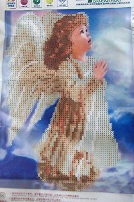 "Diamond Painting - Diamant Malerei - Stickerei - ""Girl Angel."" - Set - Neu"