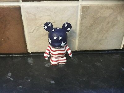 Disney Vinylmation MICKEY MOUSE STARS AND STRIPES used