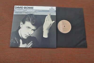 "New David Bowie Heroes / Helden EP 12"" from A New Career Box unique"