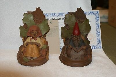 Bookends - Betty 1994 + Able 1989 Tom Clark Gnome