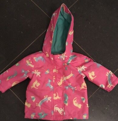 Joules Baby Raincoat 3-6 Months Excellent Condition