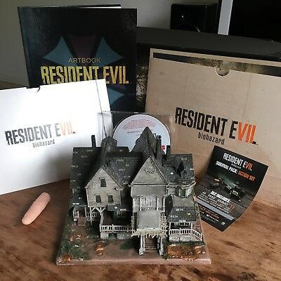 PS4 Resident Evil 7 collectors edition with game + DLC and Mansion PAL