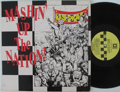 VARIOUS ARTISTS - MASHIN' UP THE NATION LP US 1988 TWO TONE SKA Insert included
