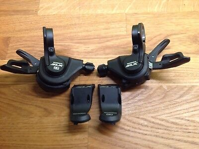 Shimano SLX M660 10 Speed Front And Rear Gear Shifters