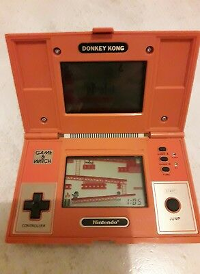 Game and watch donkey kong Nintendo en bon état